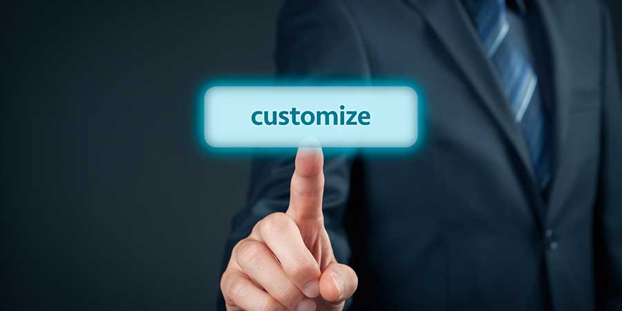 customize your newsletter